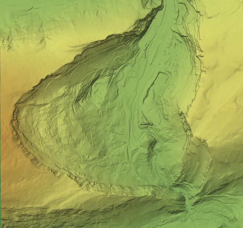 Klus von Rondchatel - visualisiert mit Tilemill